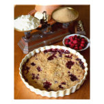 Red fruit crumble For use in USA only.) Photo Print