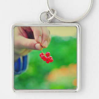 Red fruits key chain