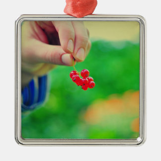 Red fruits christmas tree ornament