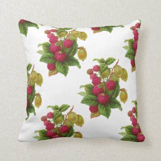 RED FRUITS  / RASPBERRIES PILLOW