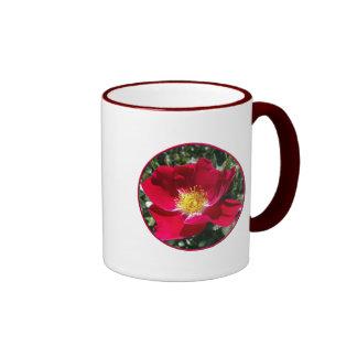 Red / Fuchsia rose Mugs