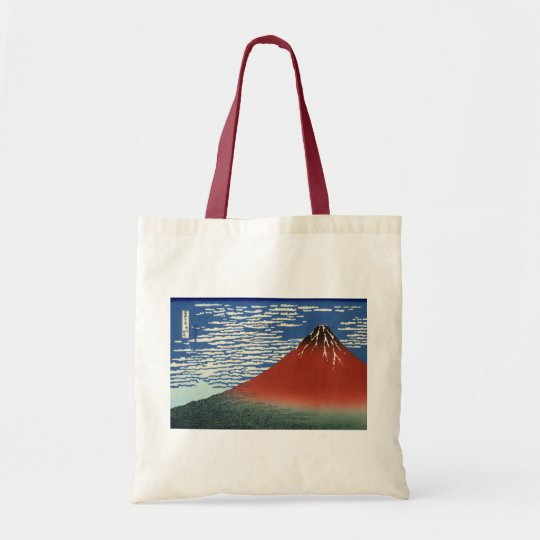 Red Fuji - South Wind, Clear Sky Tote Bag