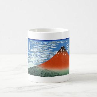 Red Fuji southern wind clear morning Coffee Mug