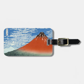 Red Fuji southern wind clear morning Tag For Luggage