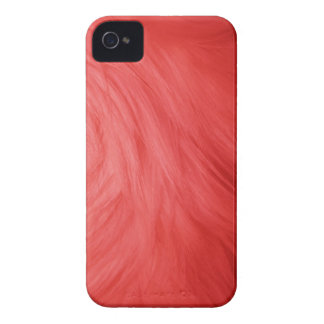 Red Fur feathery image, iPhone 4/4s iPhone 4 Case-Mate Case