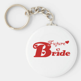 Red Future Bride Keychain