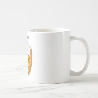 red fuzzy beard classic white coffee mug