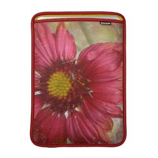 "Red Gaillardia 13"" MacBook Sleeve"