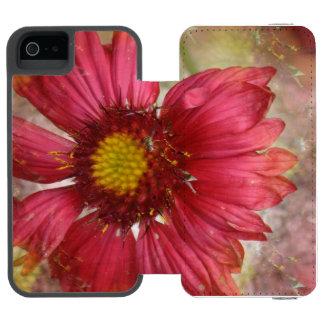 Red Gaillardia Incipio Watson™ iPhone 5 Wallet Case
