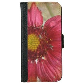 Red Gaillardia iPhone 6 Wallet Case