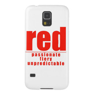 RED GALAXY S5 COVER