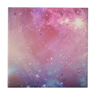 Red Galaxy Tile