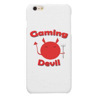 Red Gaming Devil iPhone 6 Plus Case Matte iPhone 6 Plus Case