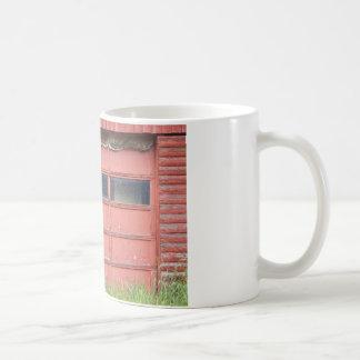 Red Garage Door Coffee Mug