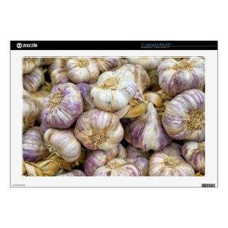 """Red garlic 17"""" laptop skin"""