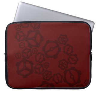 Red Gears Computer Sleeve