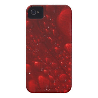 Red Gel Abstract iPhone 4 Covers