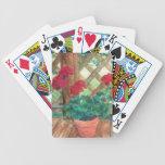 Red Geranium Card Deck