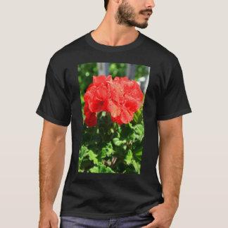 Red Geranium Flower T-Shirt