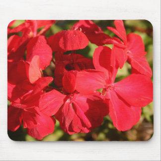 Red Geranium Mousepad