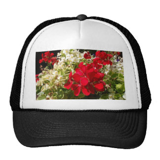 Red Geranium Trucker Hat