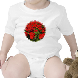 Red Geraniums Baby T-Shirt