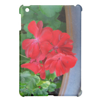 Red Geraniums CricketDiane Art Design Photography Case For The iPad Mini