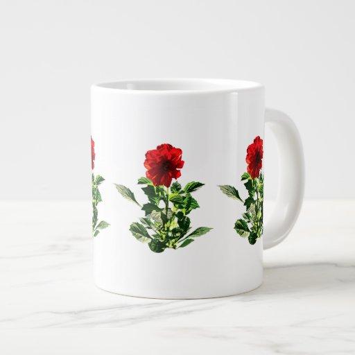 Red Gerbera Daisy Large Coffee Mug