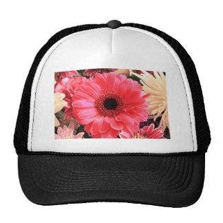 Red Gerbera Daisy Trucker Hat