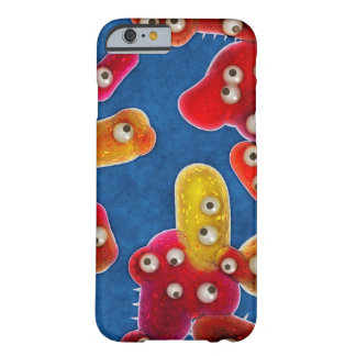 Red Germs Digital Art Phone Case