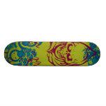 Red Ghost Custom Skate Board