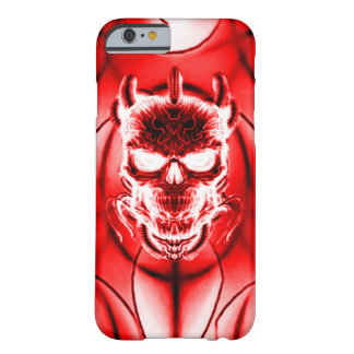 Red Ghost Skull Barely There iPhone 6 Case