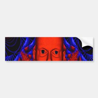 Red Ghoul Bumper Sticker