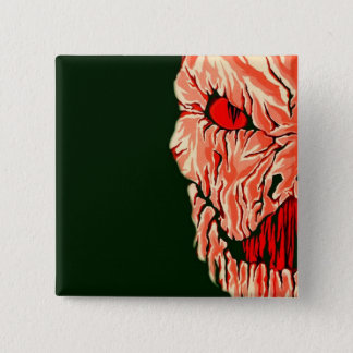Red Ghoul Pinback Button