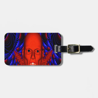 Red Ghoul Travel Bag Tags