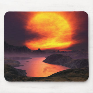 Red Giant Mouse Pad
