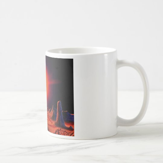 Red giant Sun Coffee Mug