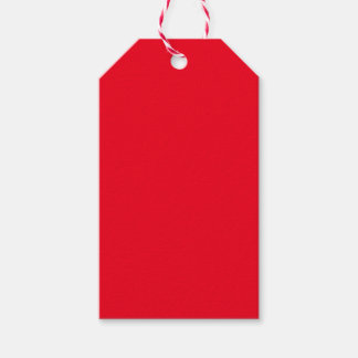 Red Pack Of Gift Tags