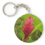 Red Ginger Flower I Keychain