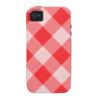Red Gingham Case For The iPhone 4
