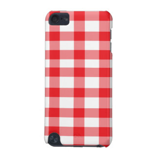 Red Gingham iPod Touch (5th Generation) Cover