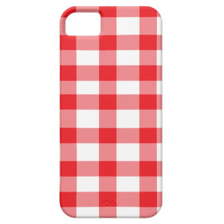 Red Gingham iPhone 5 Case