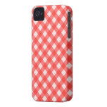 Red Gingham Checkered iPhone 4s Case iPhone 4 Cover