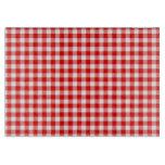 Red Gingham Cutting Board