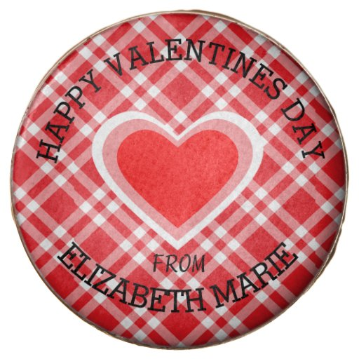 Red Gingham Happy Valentine's Day