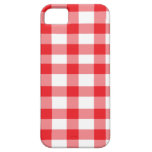 Red Gingham iPhone 5 Cases