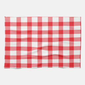 Amazing Red Gingham Kitchen Towel