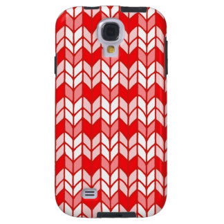 Red Gingham Knit Samsung Galaxy S4 Case