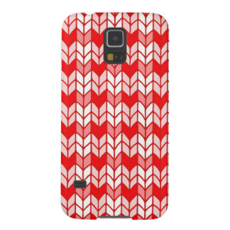 Red Gingham Knit Samsung Galaxy S5 Case