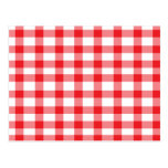 Red Gingham Postcards